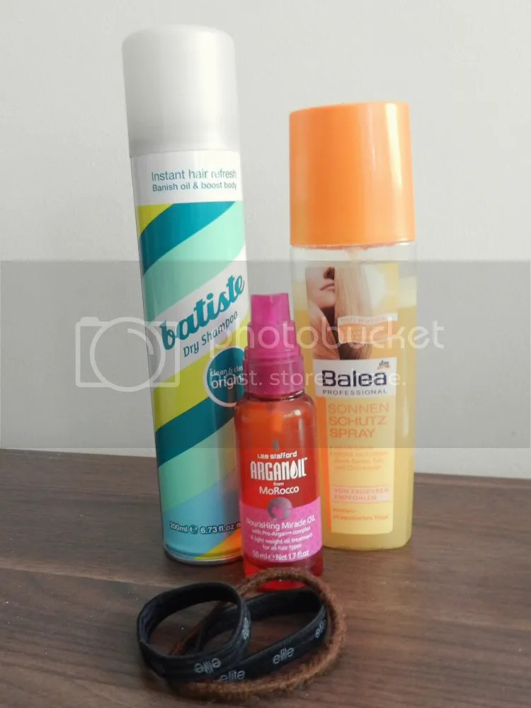 dry shampoo, argan oil, sun spray, summer, essentials, 2013, beauty, hair