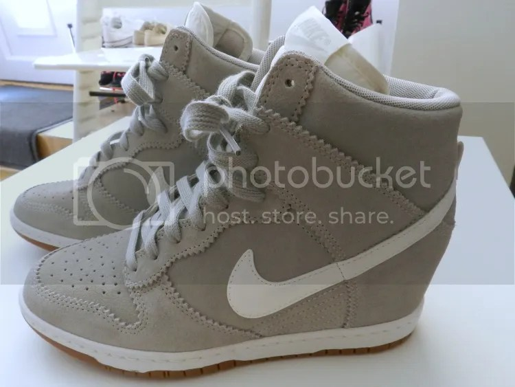 shoes, sneakers, trainers, wedge, 2013, nike, blogger, gray, shopping