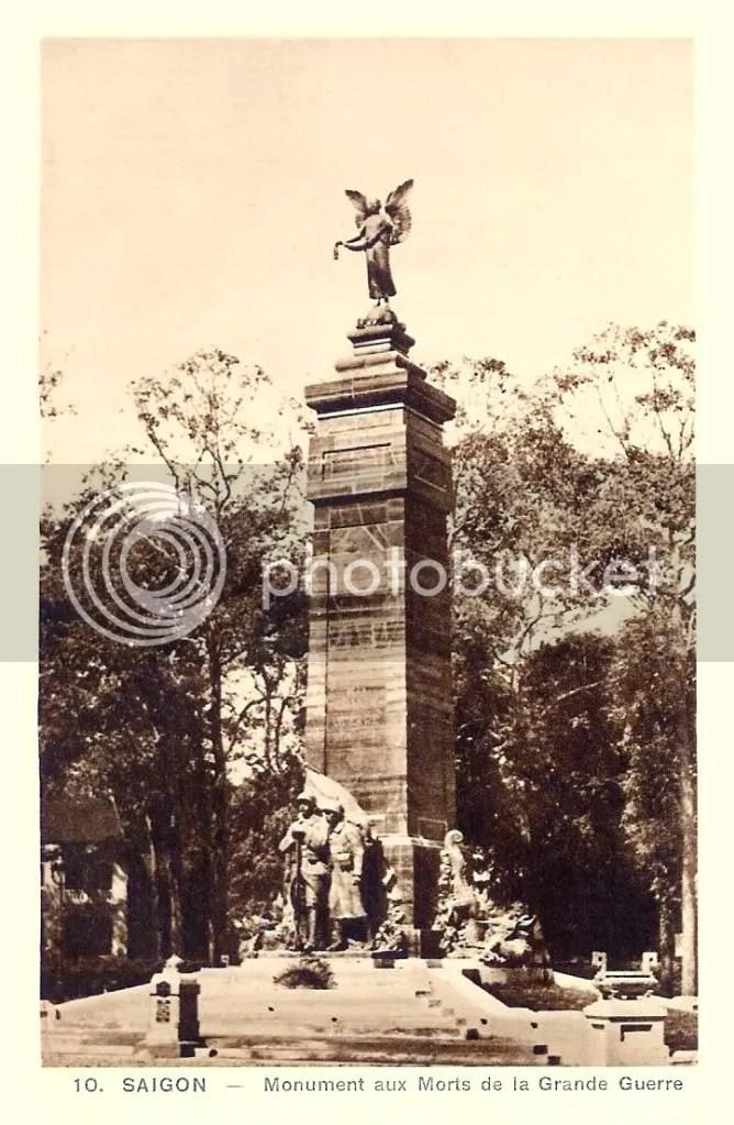 Monuments aux morts - Saigon VIETNAM