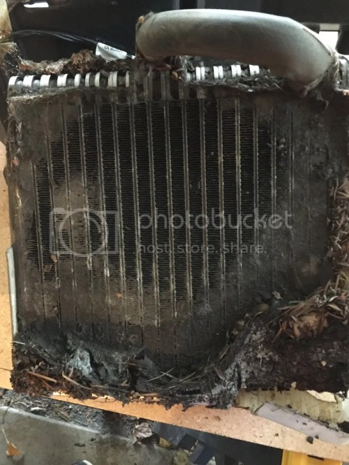 small resolution of there is a reason for doing this as the evaporator core acts as a air filter for the heater core