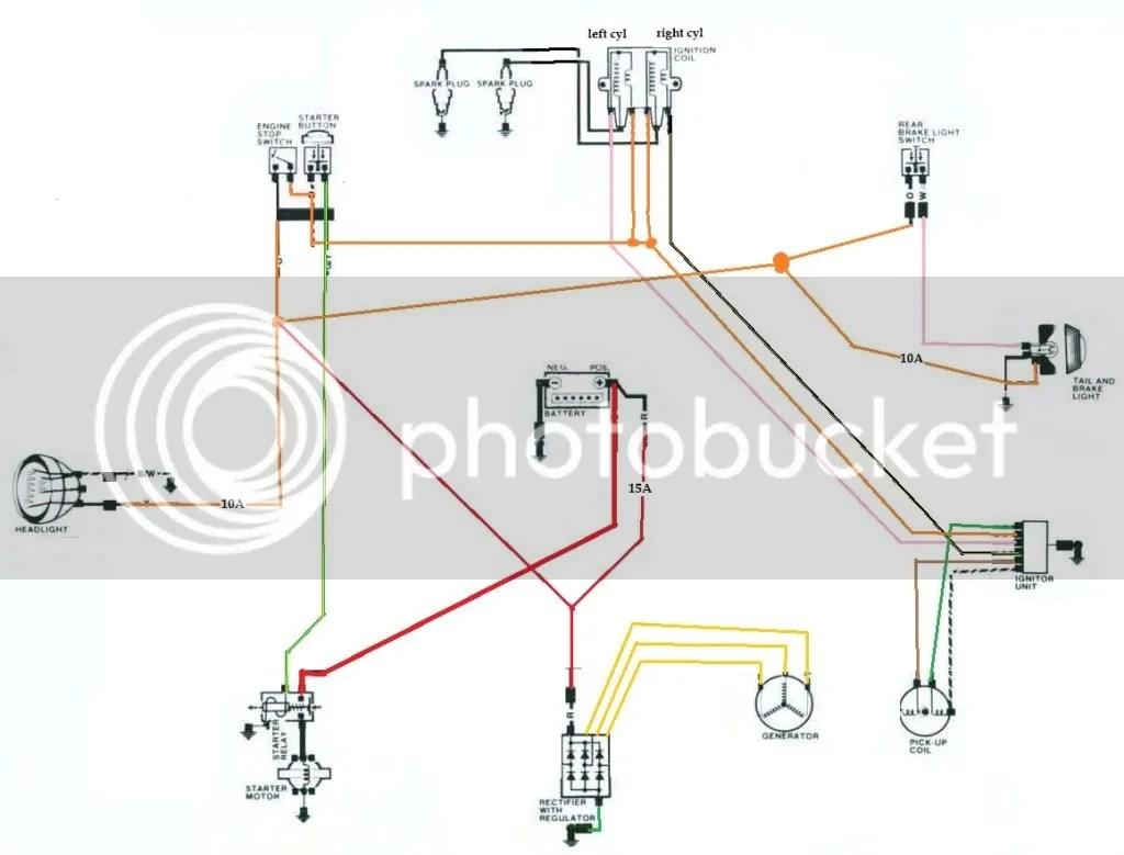 yamaha xs650 bobber wiring diagram vs commodore xs1100 library