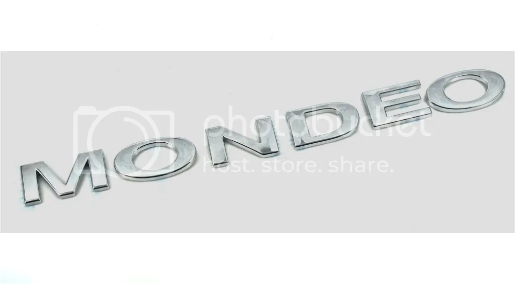 Genuine New FORD MONDEO REAR BADGE Emblem For Mk3 2000-07