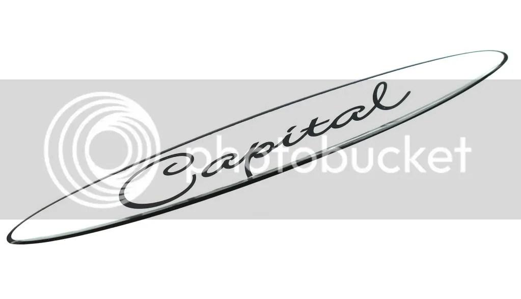 Genuine New VAUXHALL CAPITAL BADGE Opel For Corsa C 2000