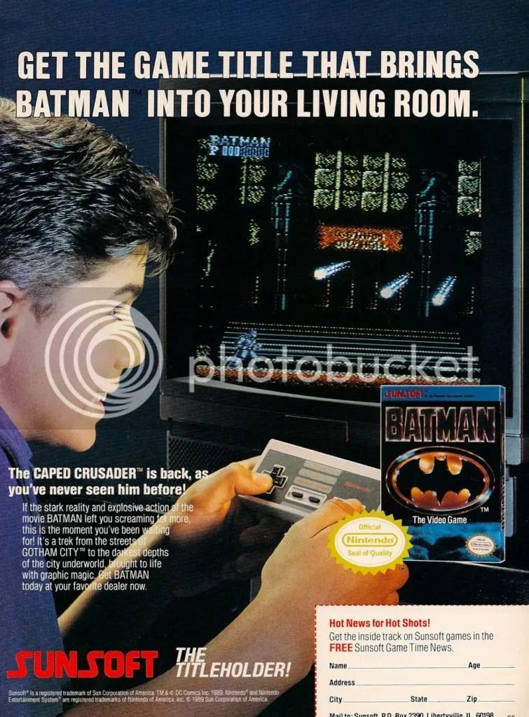 Batman ad 1990