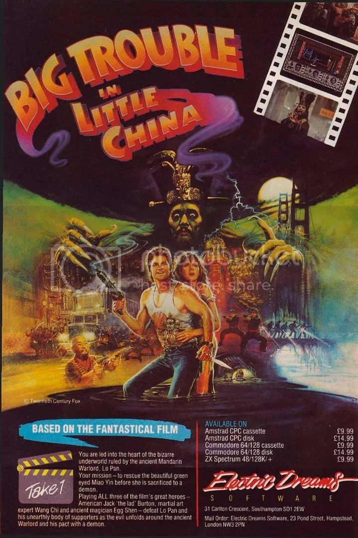 Big Trouble in Little China 1987