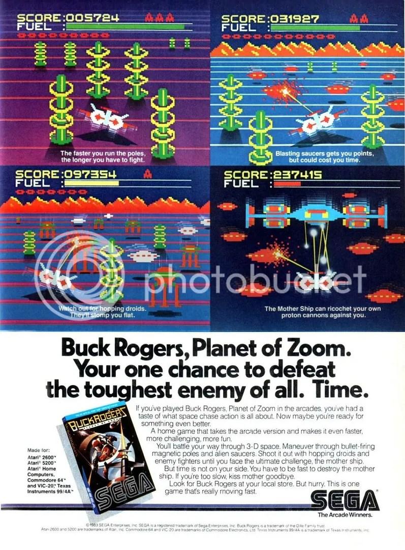 Buck Rogers: Planet of Zoom 1982
