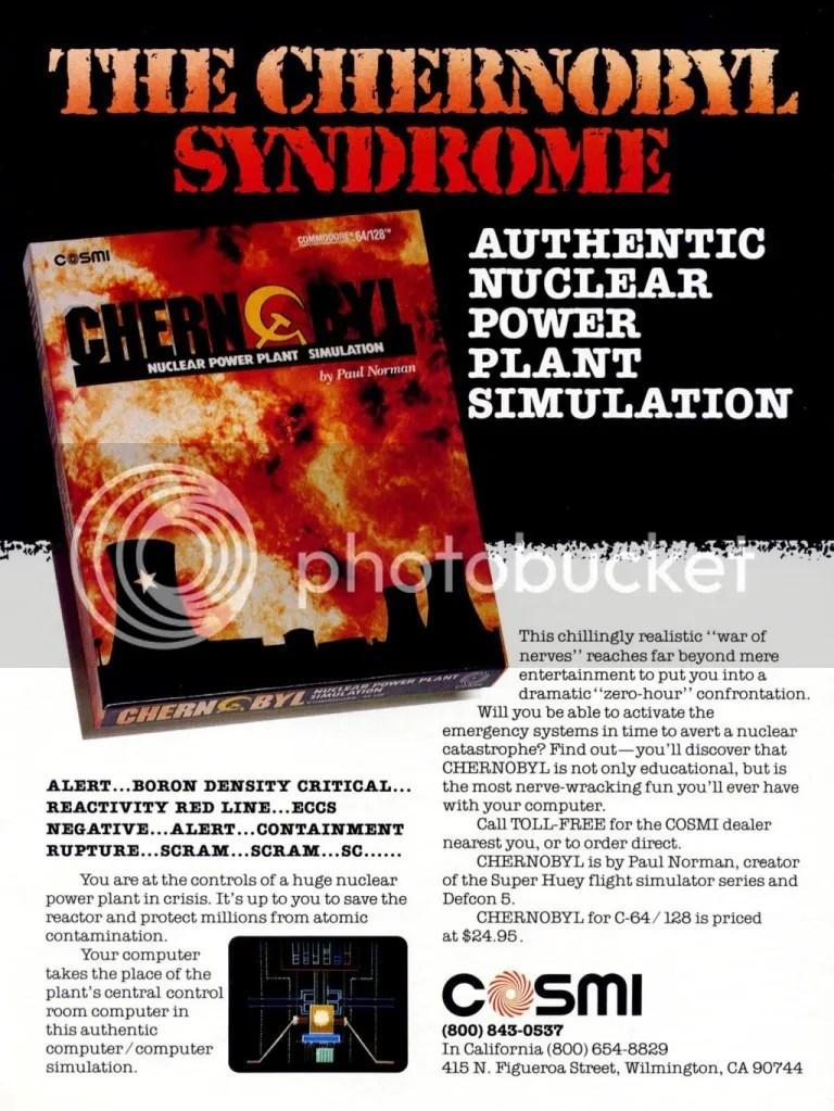 Chernobyl ad 1987