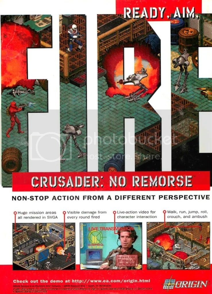 Crusader: No Remorse 1995