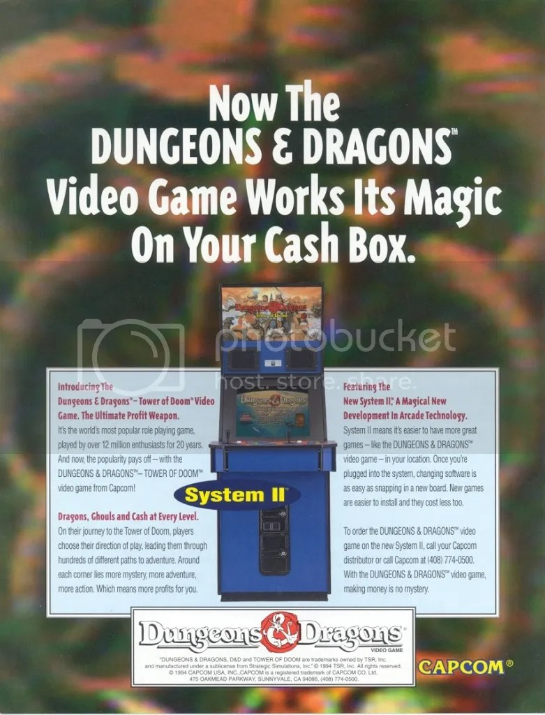 DnD Tower of Doom 1994 flyer