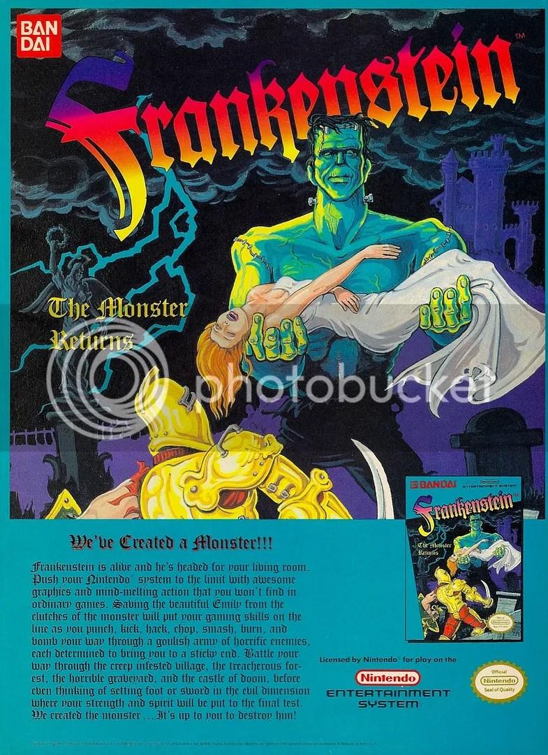 Frankenstein ad 1990