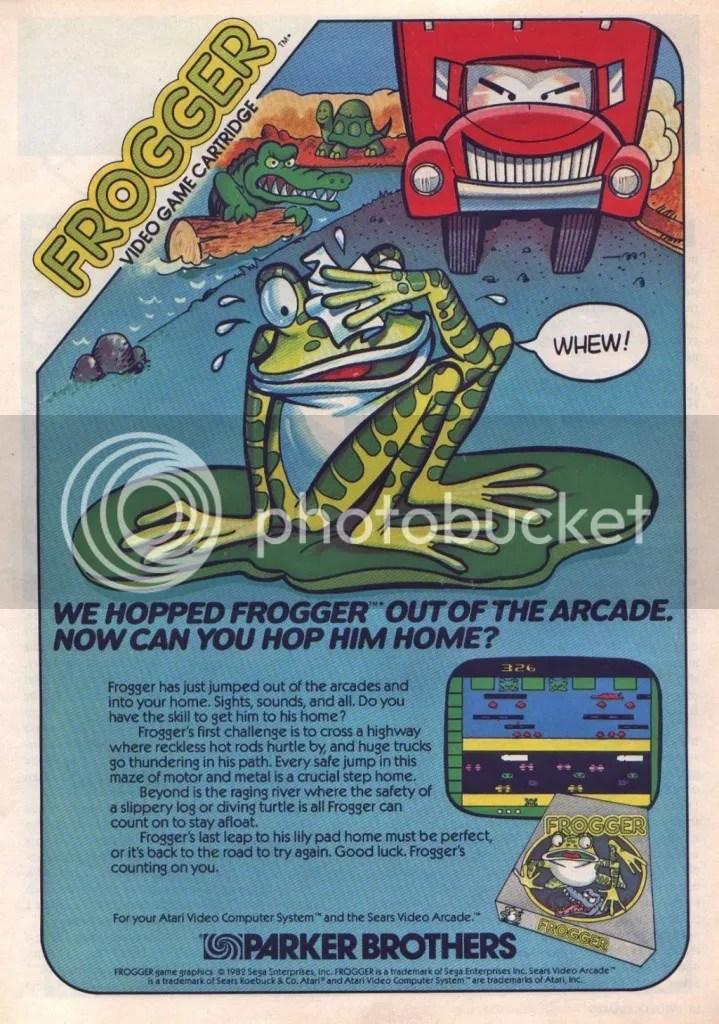 Frogger ad 1983