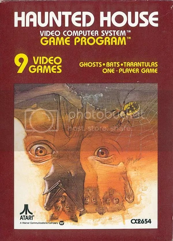 Haunted House box art 1981