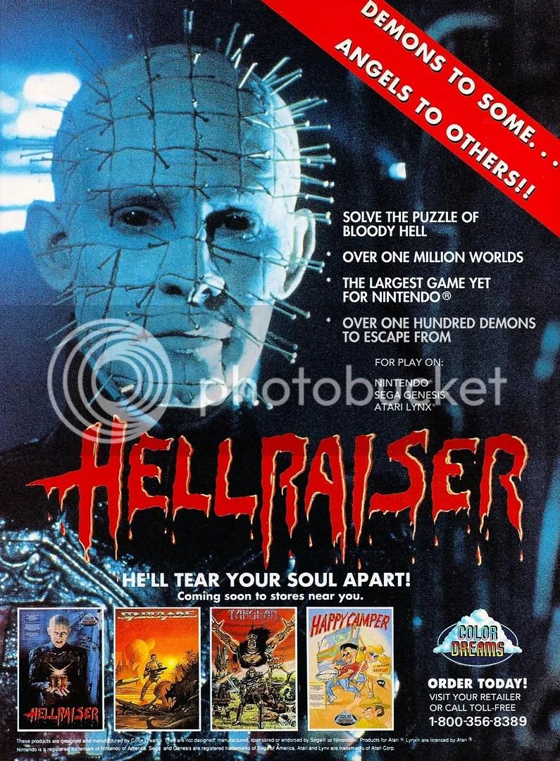 Hellraiser ad 1991