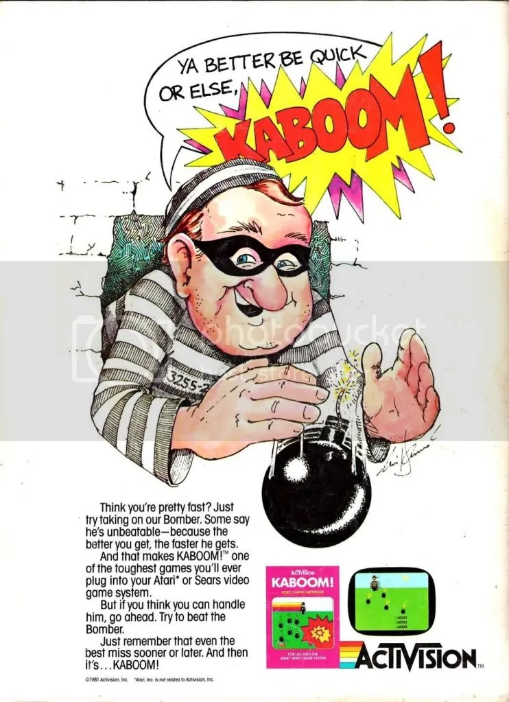 Kaboom ad 1981