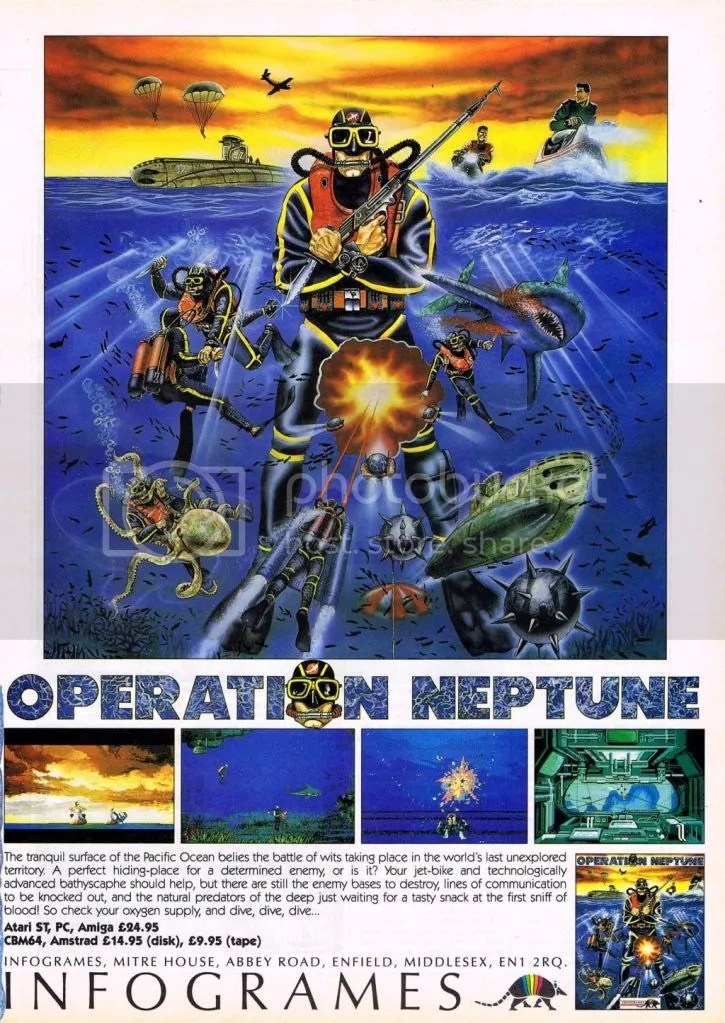 Operation Neptune 1989 ad UK