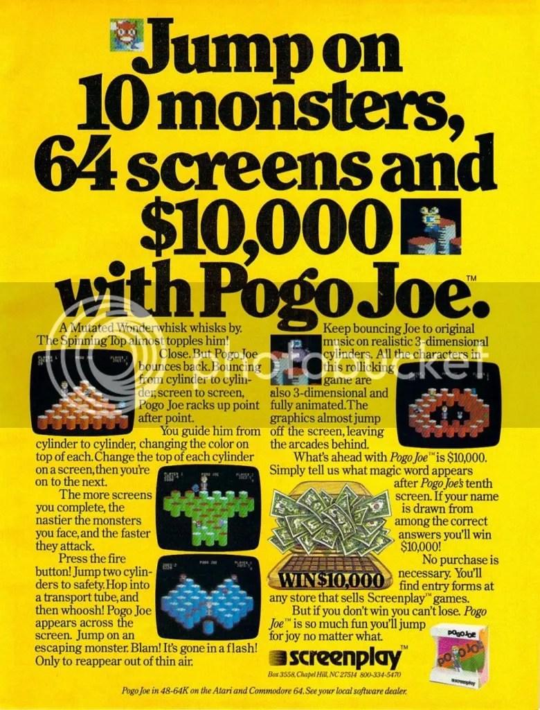 Pogo Joe ad 1984