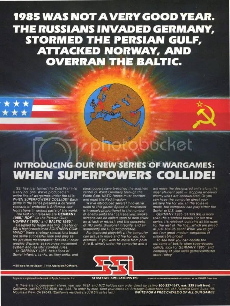 When Superpowers Collide ad 1982