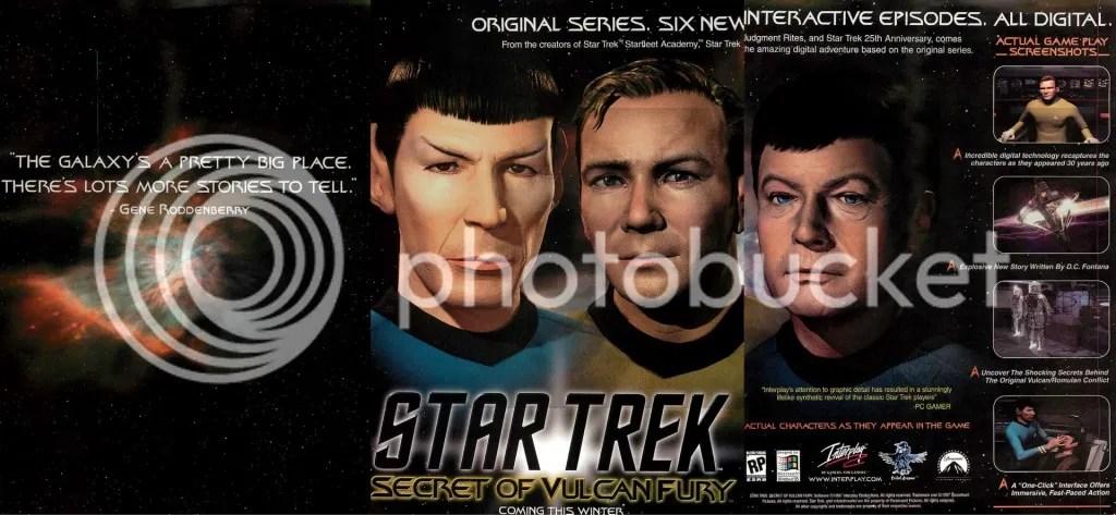 Star Trek: Secret of Vulcan Fury ad 1997