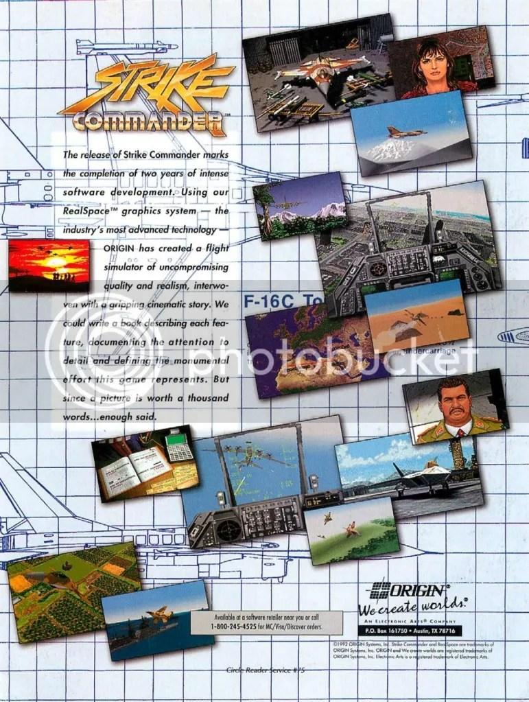 Strike Commander ad 1993
