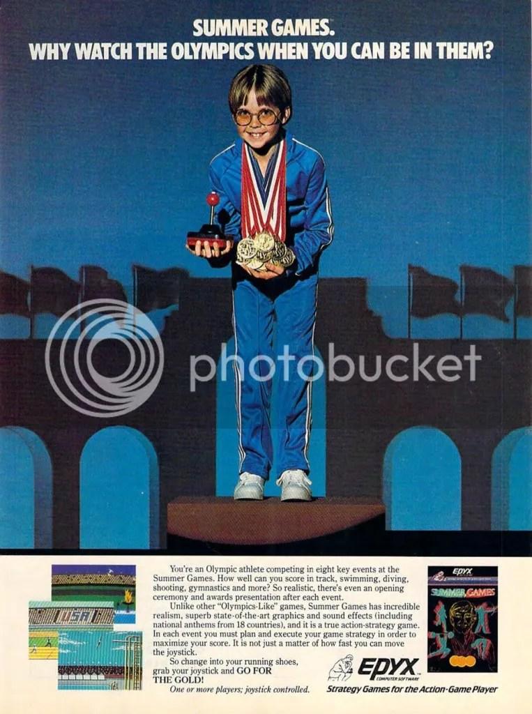 Summer Games ad 1984