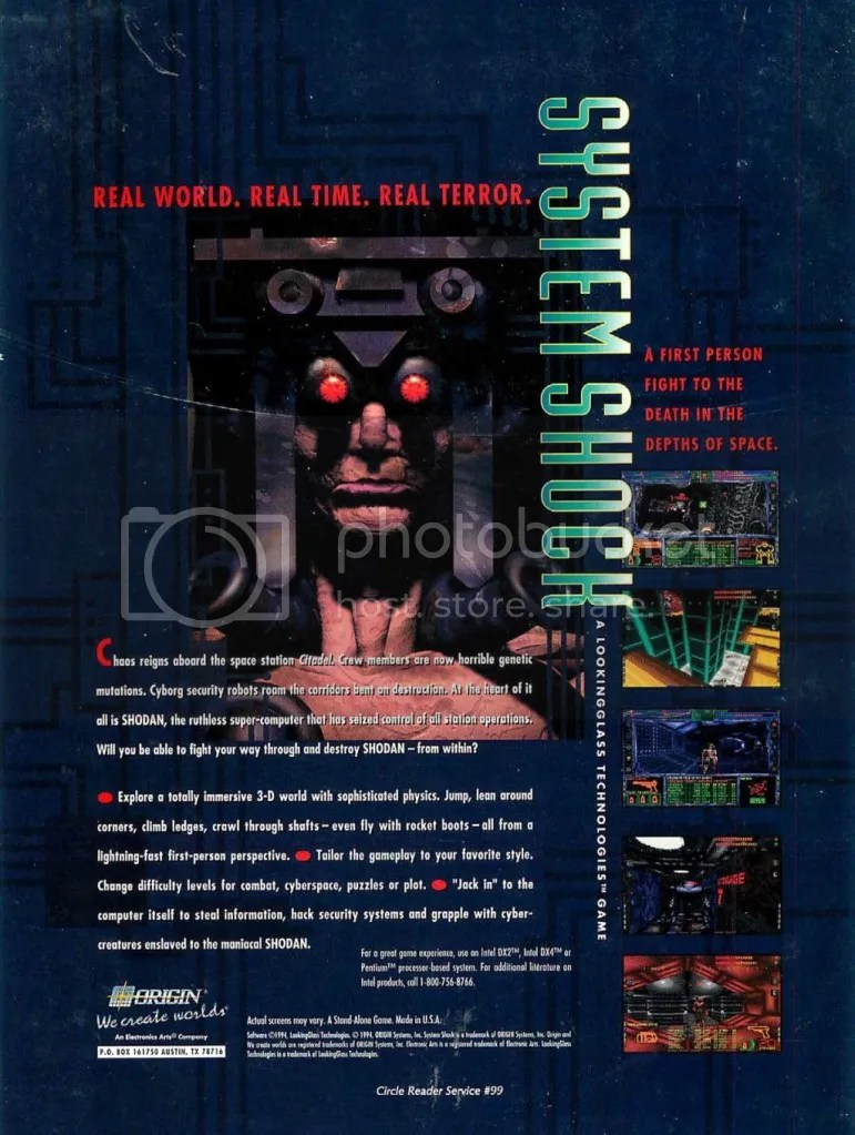 System Shock ad 2 1994