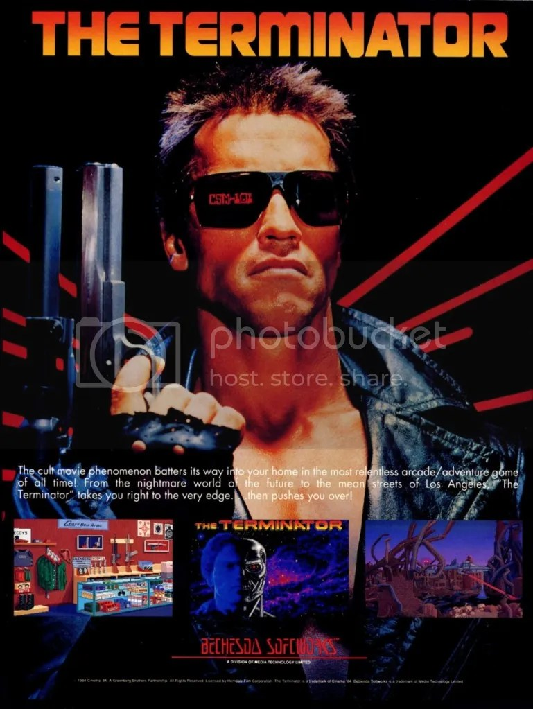 The Terminator 1991 ad