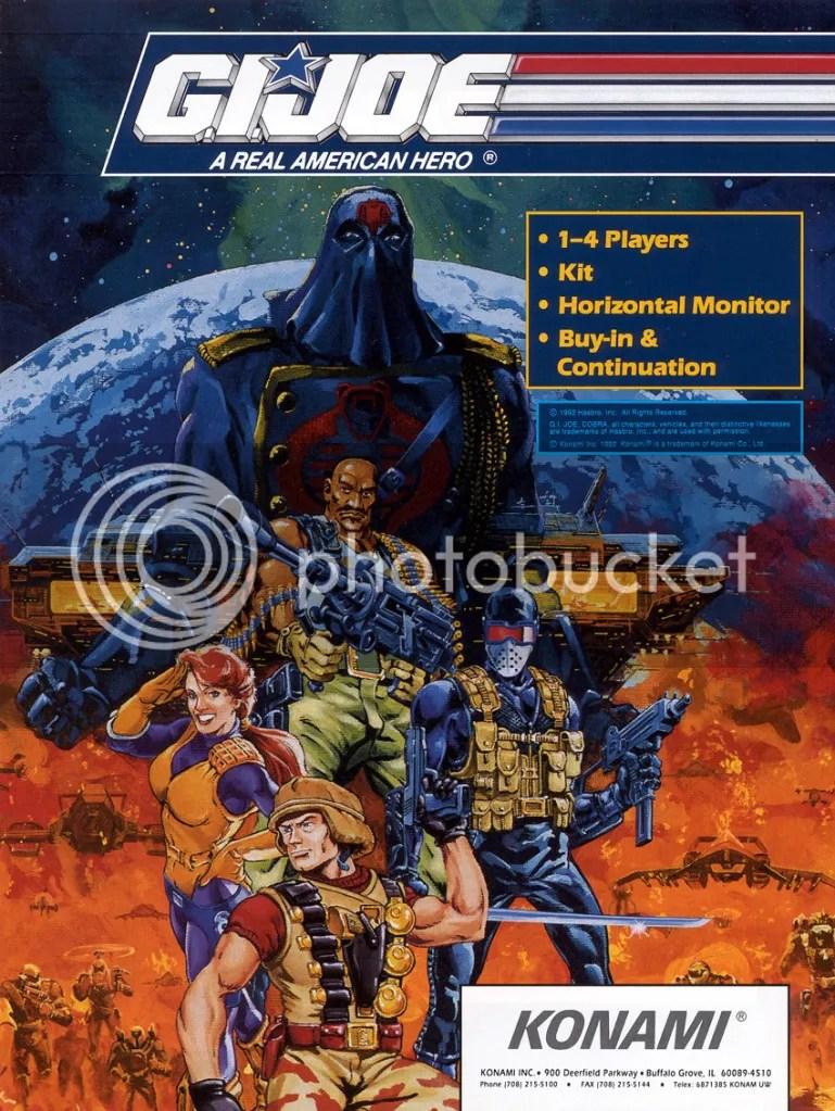 G.I. Joe flyer front 1992