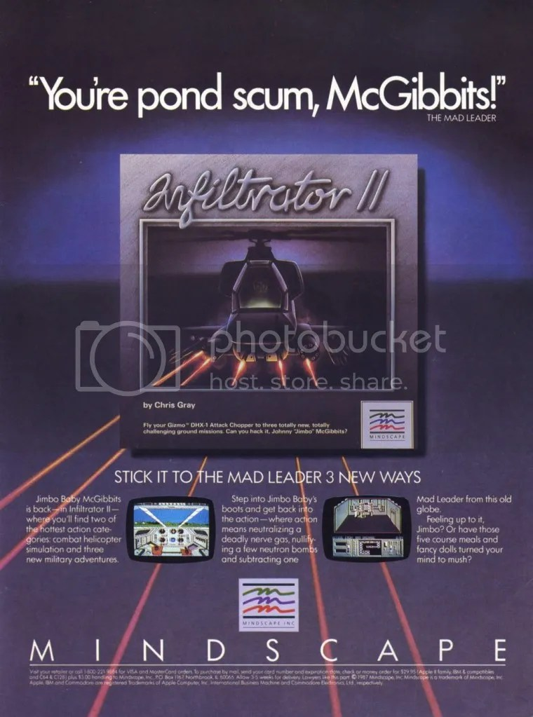 Infiltrator 2 ad