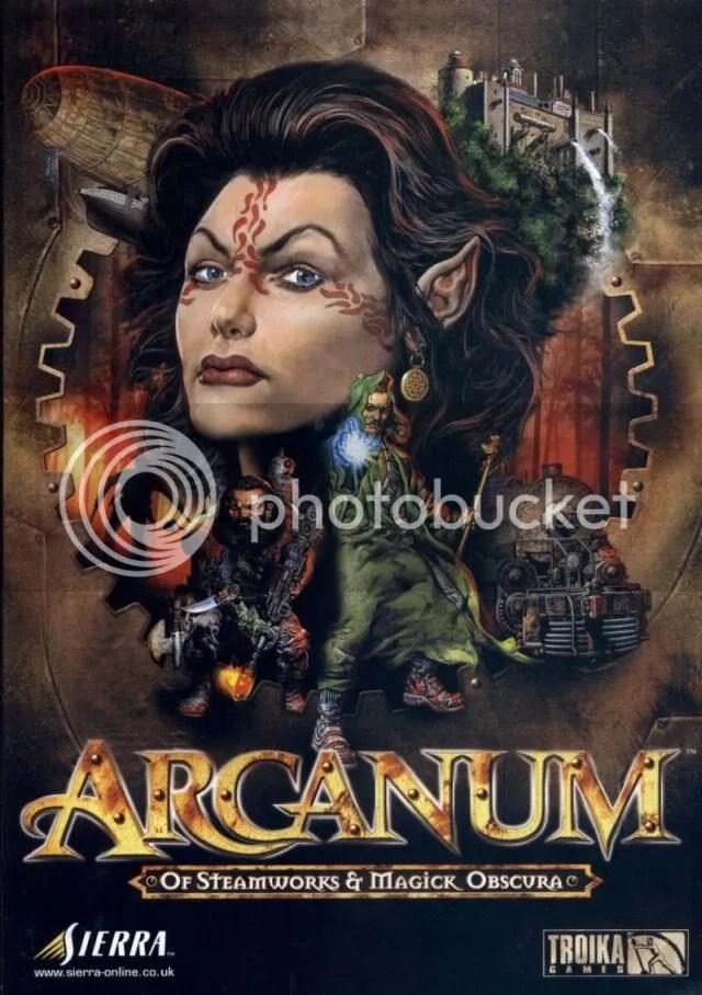 Arcanum manual cover
