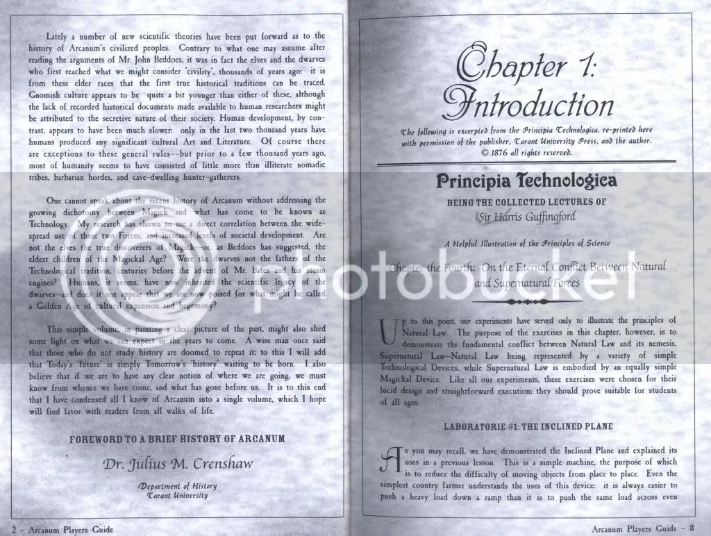 Arcanum manual excerpt 1