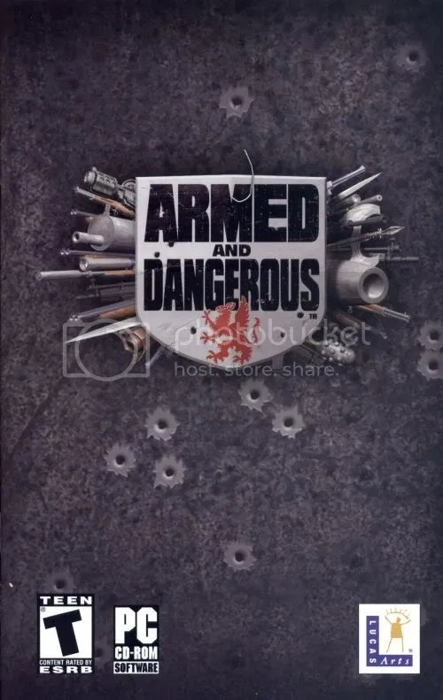 Armed and Dangerous manual cover