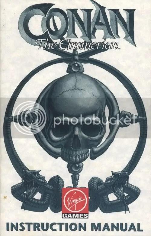 Conan the Cimmerian manual cover