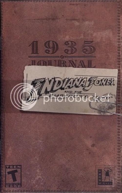 Indiana Jones Manual cover