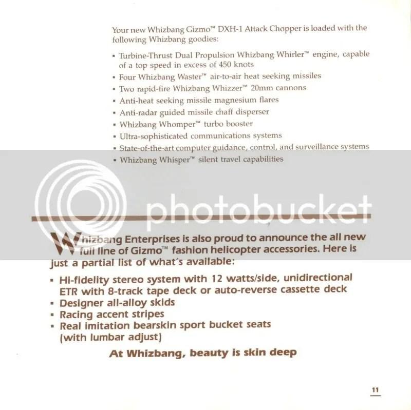 Infiltrator manual excerpt 2