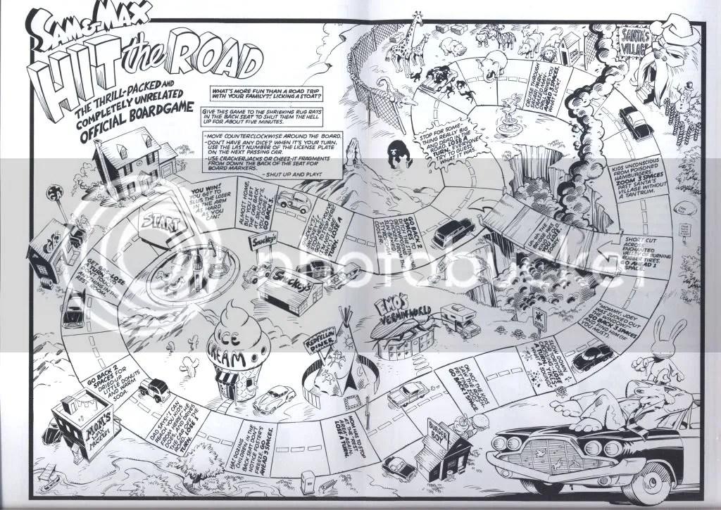 Sam & Max board game excerpt