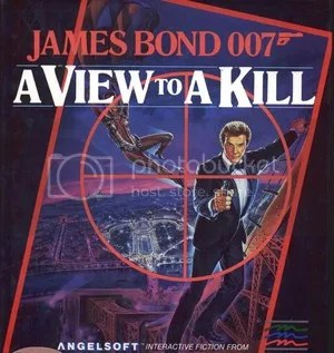 A View to a Kill game cover
