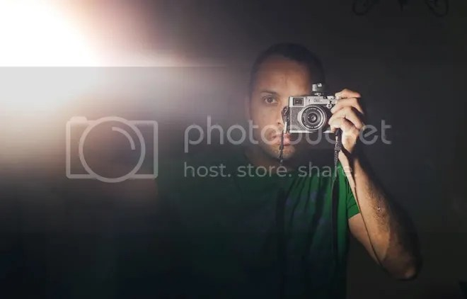 Street photography self-portrait