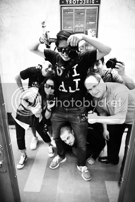 Los Angeles Street Photography Workshop Participants