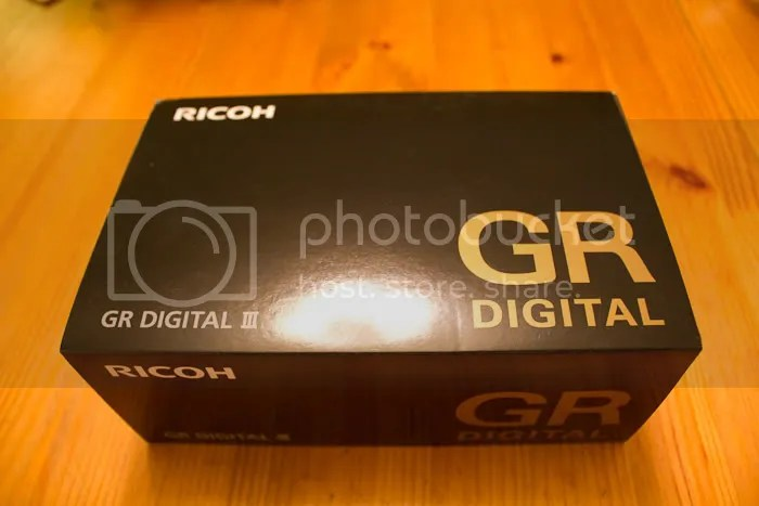 Ricoh GRIII Digital