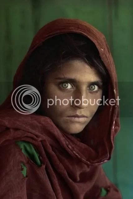 Steve McCurry Portrait