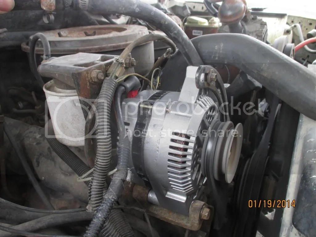 Ford 2g Alternator Wiring Diagram How To 3g Install For 83 92 Idis Ford Truck Enthusiasts