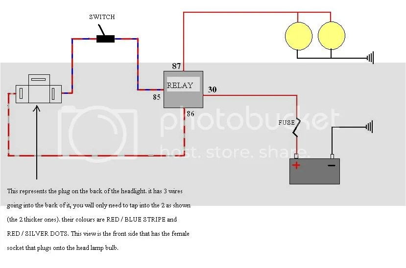 trailer light wiring diagram australia fender mustang guitar negative switched headlights + spotties = headache - australian 4wd action | forum