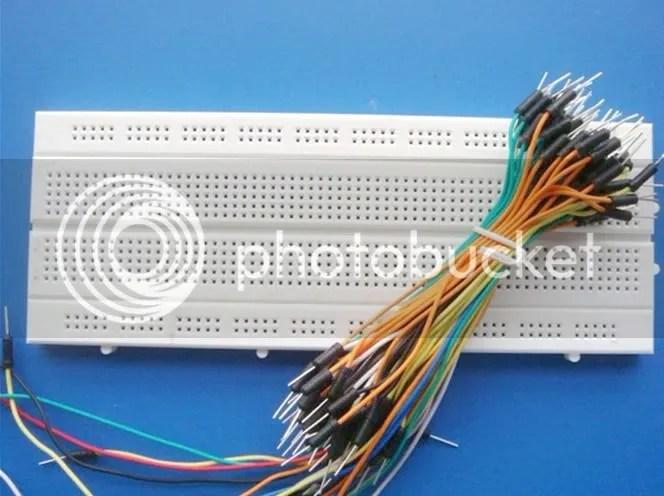Breadboard Plus Solderless Breadboard For Circuit Design Virtuabotix