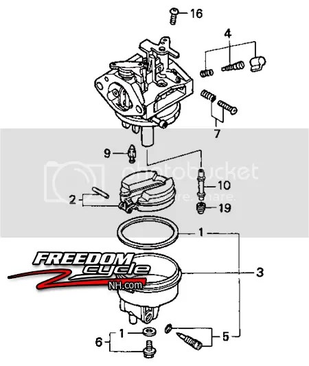 Honda FG400 FG 400 Rototiller GC135 GC 135 WN20 Carburetor