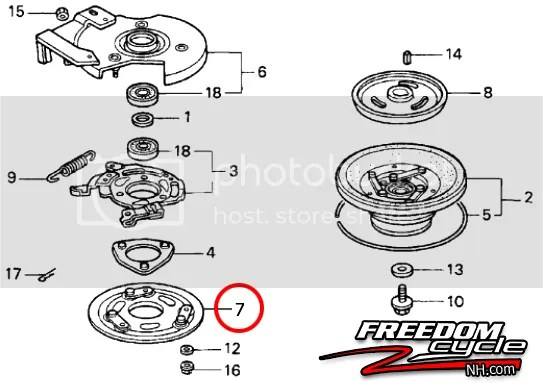 Honda Mower Hrr216vxa Clutch Plate Parts Diagram. Honda