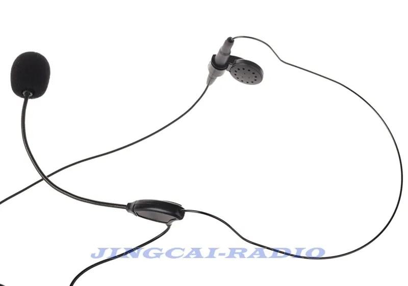 Headset Dual PTT for Kenwood Puxing Wouxun Baofeng 2-PIN