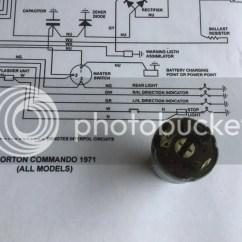 Norton Commando Wiring Diagram Single Line Of House Marks Rebuild Page 4