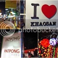 Bangkok, Thailand: Khao San Road and Patpong