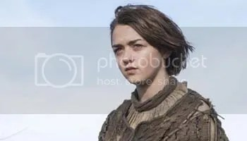 Maisie Williams in the Game of Thrones episode The Children
