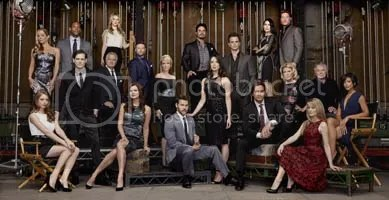 The cast of The Bold and the Beautiful